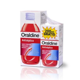 ORALDINE ANTISEPTICO PACK 400ML + 200ML