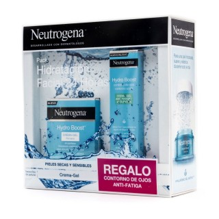 PACK NEUTROGENA HYDRO BOOST CREMA GEL 50 ML