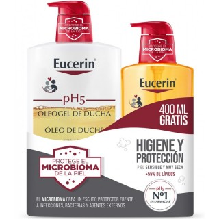 PH5 OLEOGEL DUCHA 1000 ML ACEITE DE BAÑO+ 400 ML GRATIS