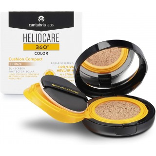 HELIOCARE 360 CUSHION COMPACT 50+  BRONZE 15GR